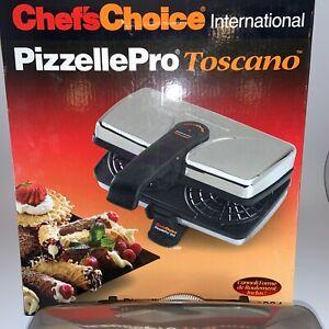 Chefs Choice International Pizzelle Pro Express Bake Toscano Maker 834