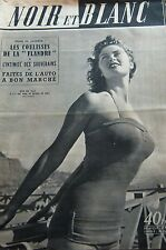 GIRLS PIN UP IRISH MAC CALLA en COUVERTURE de NOIR et BLANC No 388 de 1952
