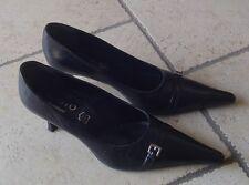 Scarpe donna nere, n. 40, pelle, Esisto by Conbipel