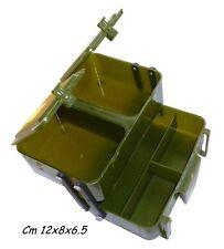 scatola porta esche cintura gibernetta pesca passata bigattini esca viva 1247301