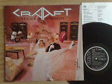 CRAAFT - SECOND HONEYMOON - LP 33 GIRI GERMAN PRESS