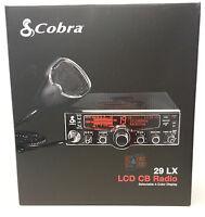 Cobra 29 LX 40-Ch CB Radio w/ LCD Ch Display & Weather Channel Scan (29LX)
