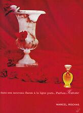 Publicité ancienne parfum femme Rochas 1965 issue de magazine