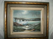 Roal English seascape oil  painting untitled & signed