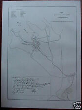 Orig 1886 Australian Map SETTLEMENT IN NSW