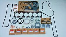 6Bt Quality Re-Ring Rebuild Kit w/ Rod & Main Bearings For Cummins 12V 5.9 P7100
