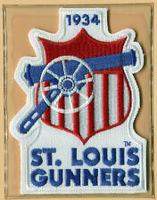 1934 ST. LOUIS GUNNERS OFFICIAL NFL FOOTBALL THROWBACK PATCH GOLDEN AGE