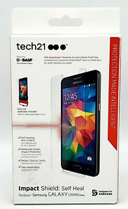 New Easy Apply Screen Protector by Tech21 Self-Heal Samsung Galaxy Grand Prime