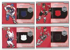 15-16 UD Piece of History 1000 Points Club Jersey Dale Hawerchuk #PC-DH