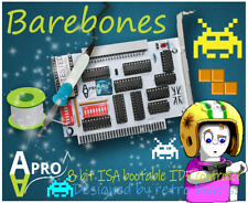 🧰 BAREBONES DIY KIT XT-IDE ATA CF 8 BIT ISA CARD FOR RETRO COMPUTERS BOOT ROM