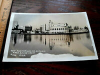 "Historic ""NEW"" Auditorium LONG BEACH California view photo POSTCARD RPPC W M S"