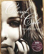 CHERYL COLE: THROUGH MY EYES SIGNED, 1/1 ED (2010) - UNREAD/EXC. COND.