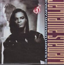 "7"" Jermaine STEWART every woman wants to/Holes in My Jeans 1990 Virgin (NM)"