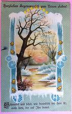 501.669   Neujahr, Landschaft, Jugendstil, Litho, gl1911