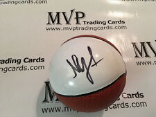 NICK YOUNG Authentic Autograph Mini Spalding NBA White Panel Basketball PSA/DNA