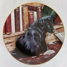 Playful Puppies by The Danbury Mint - It Wasn't Me! by John Silver - Plate