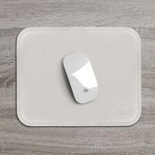 Tappetino Mouse Pad Scrivania Ufficio Cuoio Beige Antiscivolo Angoli Arrotondati