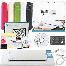 Silhouette CAMEO 2 Vinyl Starter Kit Machine Tool Bundle PixScan Cutting Mat