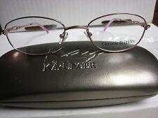 CHRISTIE BRINKLEY Eyeglass Frames  LYRICAL in PINK  50-18-135 With  Case