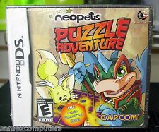 Nintendo DS Neopets Puzzle Adventure New