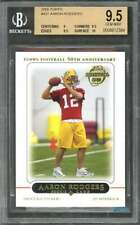 2005 topps #431 AARON RODGERS green bay packers rookie BGS 9.5 (9 9.5 9.5 10)