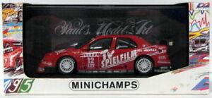 Minichamps 1/43 Scale 430 950312 - Alfa Romeo 155 V6 TI DTM 1995 #12 M.Alboreto