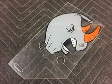 Data East Rocky & Bullwinkle Pinball Machine Backbox Plastic Rhino FREESHIP