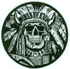 KANDAHAR WHACKER SAS JTF2 SKULLS NATIVE INDIAN CHIEF DEATH SKULL TOTENKOPF PATCH