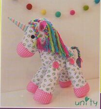 PATTERN - Unity - fabulous cute unicorn softie PATTERN from Melly & Me