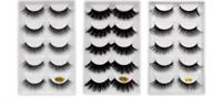 5 Pairs 3d Mink False Eyelashes Full Strip Natural Long Makeup Eyelash Hand Made