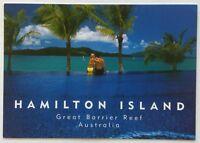 Hamilton Island Great Barrier Reef Australia Beach Club Postcard (P325)