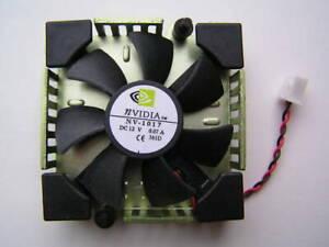 NVIDIA Fan NV-1017 12VDC  0.07A on 52x52x12mm Heat sink OL0378