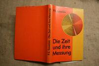 Fachbuch Zeitmessung, Uhrengeschichte, Uhrmacher, Uhrentechnik, DDR 1977