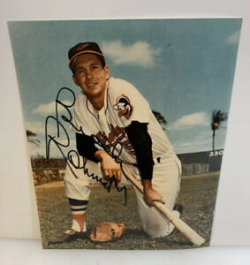 Brooks Robinson Signed Autograph 8 x 10 Photo Color Baltimore Orioles HOF