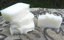 Lard and Lye Soap, Traditional Old Fashioned Handmade Soap, Four Bars.