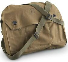 Genuine Military Satchel Shoulder Messenger Vintage Bag Army Fishing Canvas