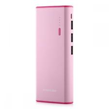 Poweradd- Cargador Móvil Portátil Batería Externa 10000mAh (3 USB ,5V 2A, Más 2.