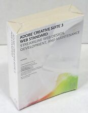 Adobe  Creative Suite 3 Web Standard Mac CS3, Dreamweaver Fireworks Flash New