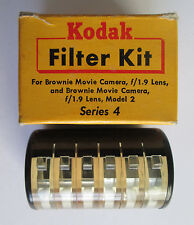 Kodak Kit Series 4 with 2 Filters & 1 Portra Lens for Brownie Movie Camera f/1.9