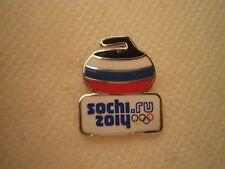 SOCHI 2014 OLYMPIC PIN CURLING