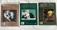 Aikido Today Magazine 3 Issue Bundle 1997 / 2000 Excellent Condition