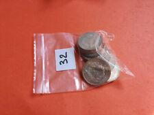 Lot 10 pièces argent Hercule année diverses Lot n° 32