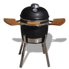 HIGOSHI Kamado Ceramic Cooking Egg BBQ Charcoal Grill Smoker Chrome Stand 2 Size