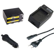 Batteria Patona + caricabatteria casa/auto per Canon BP-970G