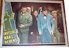 INVISIBLE MAN'S REVENGE, 1944 HORROR CLASSIC LOBBY CARD