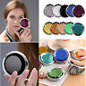 Crystal Double Side Folding Round Pocket Travel Compact Makeup Cosmetic Mirror