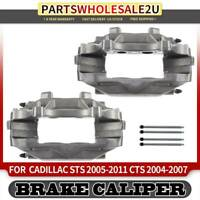 2x Front Left & Right Brake Caliper for Buick Regal 2012 2013 Cadillac CTS STS