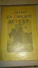 Autant en emporte le vent - E. Mitchell - Gallimard 1939