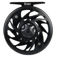 Fly Reel 3/4 5/6 7/8 9/10WT Large Arbor Black CNC Machined Fly Fishing Reel
