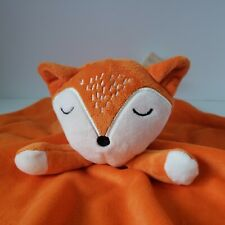 First Impressions Orange Fox Security Blanket Lovey